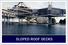 Insulated Sloped Roof Decks